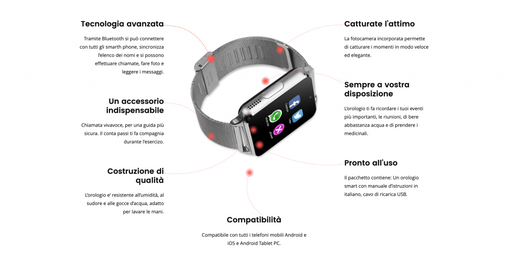 X Power Watch Funzioni
